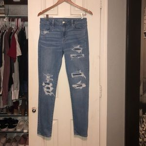 American eagle jeans/size 10